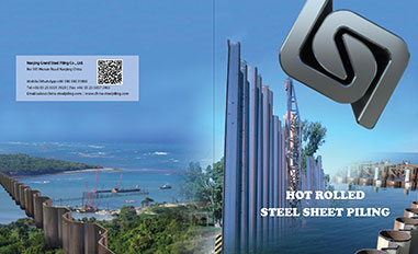 Hot rolled sheet piling Catalog