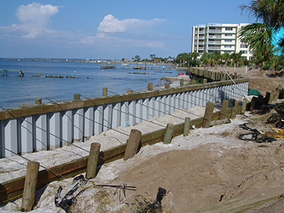 Why are so many people choosing vinyl sheet piling?