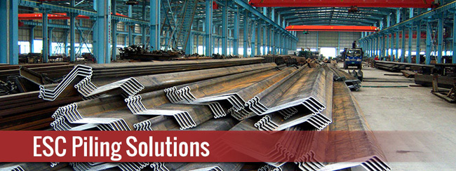 Professional Grade Steel Sheet Pile in North America