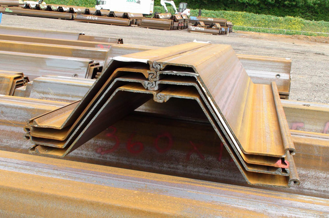 Hot Rolled Steel Sheet Pile Sections