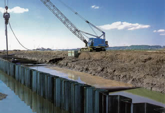 Cold Formed Sheet Piling