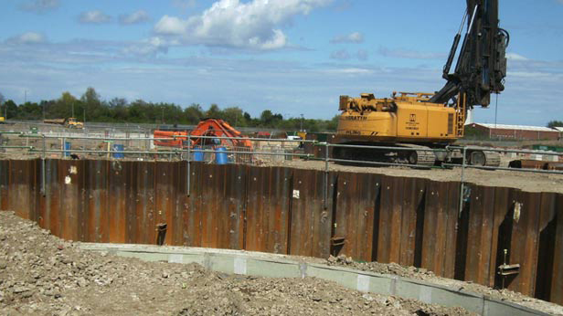 Temporary Sheet Piling Specialist