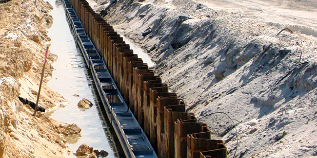 Sheet Piles - Support of Excavation