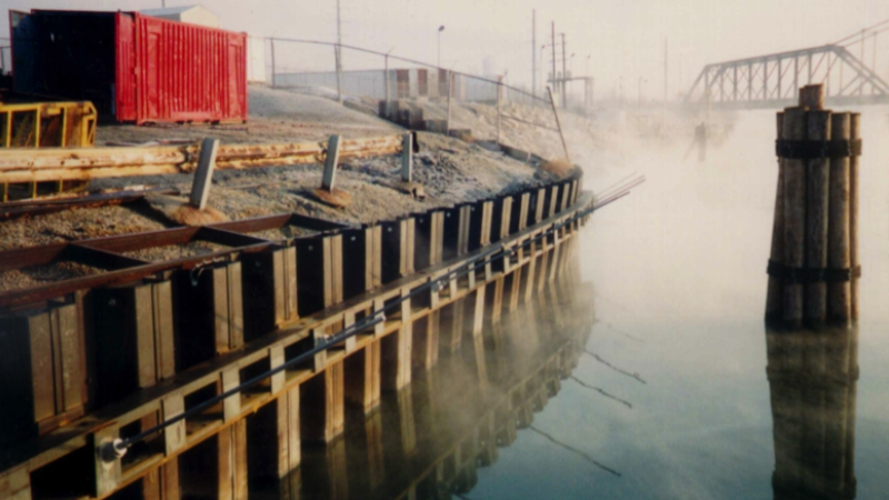 Specific Steel Sheet Piling Applications