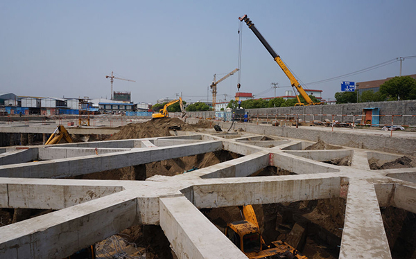 Sheet piles replace diaphragm walls