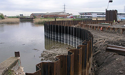 Advanced solution for sheet piling
