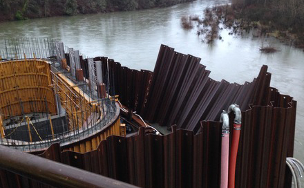 Sheet Piling Cofferdams