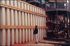 How to use sheet pile walls