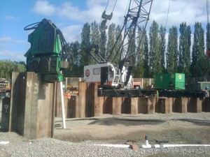 Sheet Piles – Installation And Removal