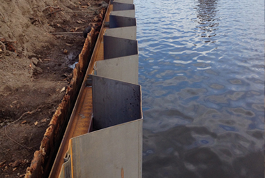 Sheet Piles: Adaptable, Dependable and Ready for Use