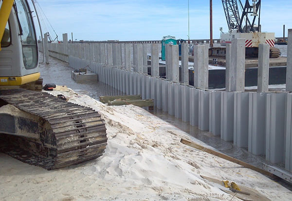 The Sheet Pile Mobile Cofferdam