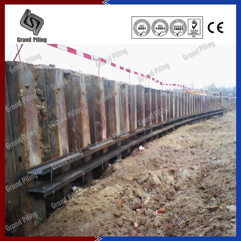 Hot Rolled Sheet Pile Projects