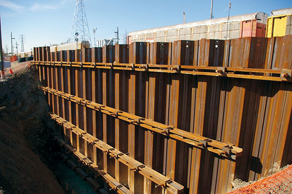 Sheet Pile Cofferdam, Dewatering, and Pile Group Design
