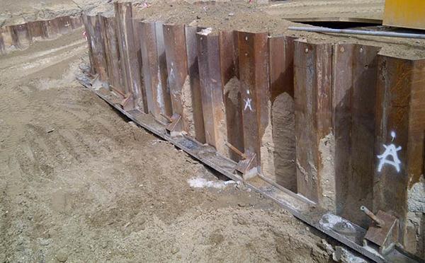 Interlocking sheet piles and method of installation
