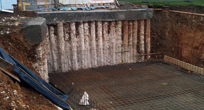 Cantilever sheet pile – Lighter, Wider, Stronger