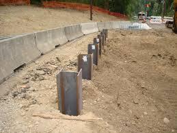 Concrete piles vs steel piles