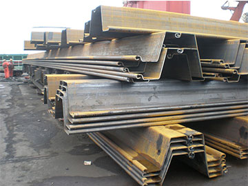 We shipped over 40,000 tons sheet piles into Indonesia in 2016.