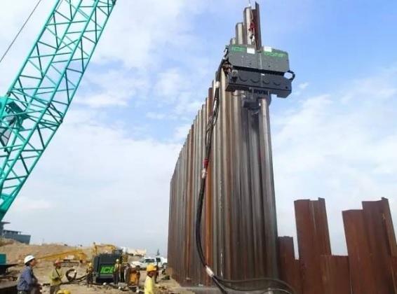 Six applications of steel sheet pile