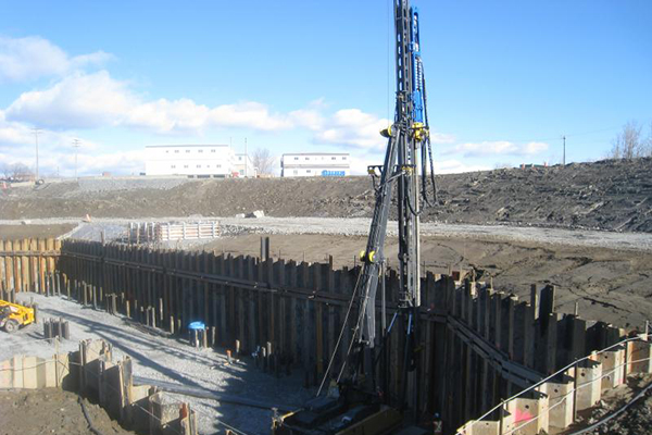 Port Construction using Steel Sheet Piles
