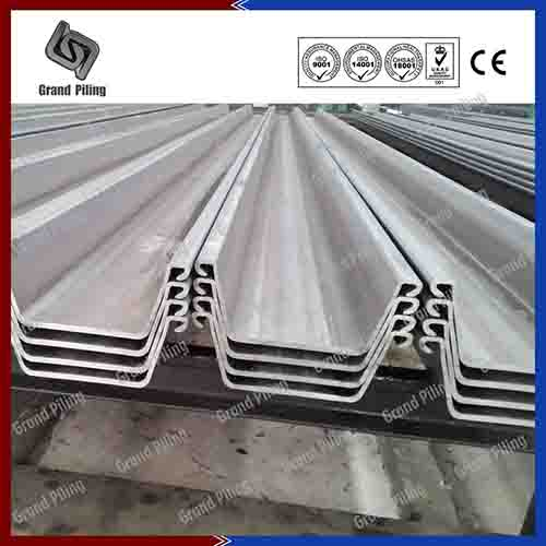 Hot Rolled U Type Sheet Pile