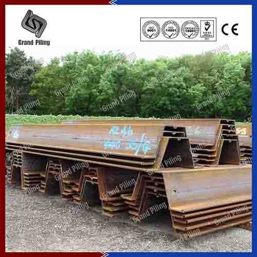 Hot Rolled Z Type Sheet Pile